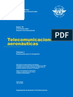 Anexo 10 Vol.1 - Telecomunicaciones Aeronauticas