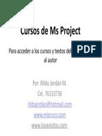 Microsoft Project Para Construcciones