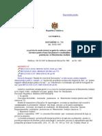 HOTĂRÎRE Nr. 796 sistemul penitenciar