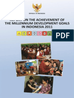 Indonesia MDG 2011