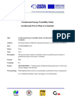 2CE124P3_6PR_WP6B_6.2.2_Feasibility Study for Geothermal Power Plant