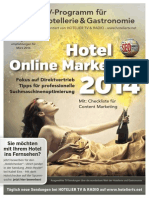 HOTEL TV PROGRAMM MÄRZ 2014