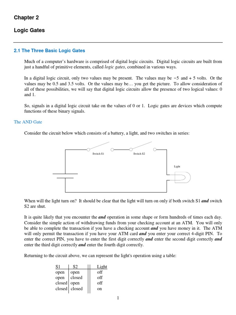 Logic Gates Student Version Gate Boolean Algebra Circuit