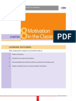 8 Motivation in the Class