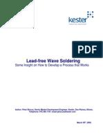 Lead-Free Wave-Insight on Optimization