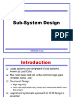 Sub-System Design 5