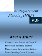 1_1. Material Requirement Planning
