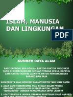 Lingkungan Dan Islam