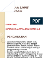 Guillain Barre Syndrome