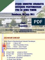 Peran Baristand Surabaya Dlm Pengembangan Sektor Industri - Ka Baristand