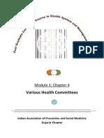 Health Comittes
