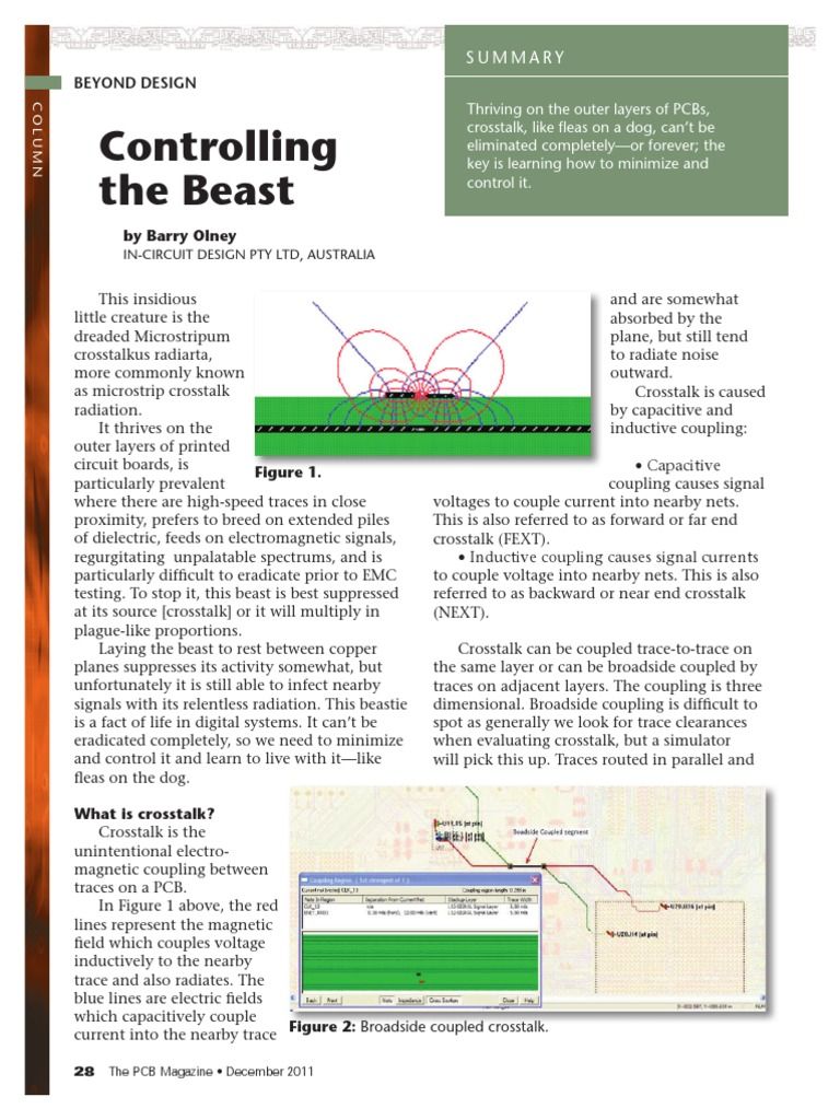 Controlling the Beast PCB-Dec2011 | Printed Circuit Board