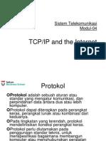 Pertemuan 4 TCP-IP and Internet