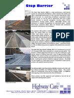 Steel Step Barrier Product Brochure