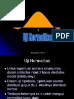 Kwt 10. Uji Normalitas