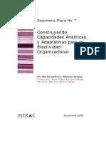 capacidad analítica