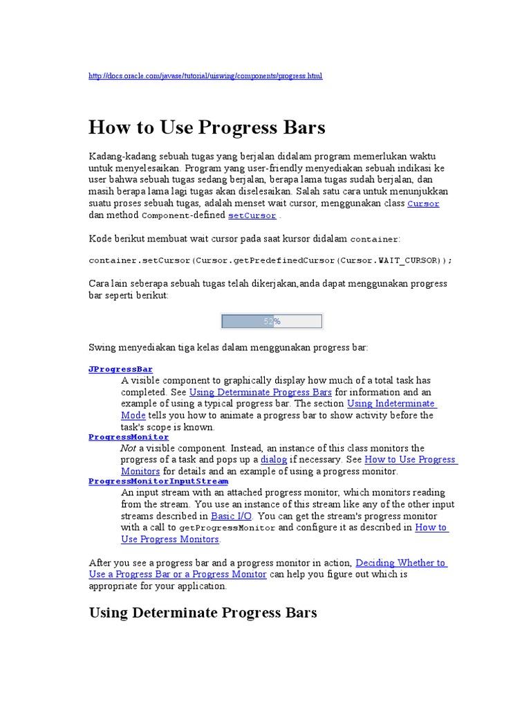 Bab13-How to Use Progress Bars | Parameter (Computer