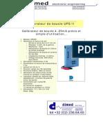 Druck - UPS II UPS III - French