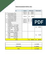 Laporan Keuangan Portal 2012