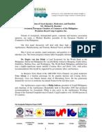 TAPP Forum 2014- Speech_JFC Pres._ECCP Michael Raeuber_Intro. to Panel on Jobs