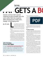 2014 Salary Survey