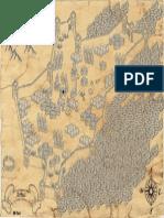 Mappa di Arbus, sardegna, per D&D