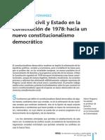 Sociedad Civil y Estado en La Constitucixn de 1978 Hacia Un Nuevo Constitucionalismo a Noguera