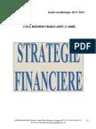 Strategie Financiere Revue