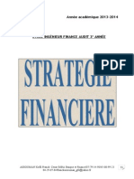 Strategie Financiere Revue