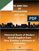 Historical Route of Modern Saudi Kingdom