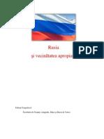 Rusia Si Vecinatatea Apropiata