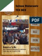 Proposta Grafica per il sito del Tex Mex