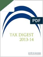 JASB Tax Digest 2013-14