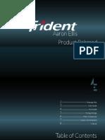 Trident Rebranding Book