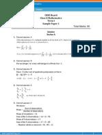 700000562 CBSE 10 Maths TermI SampleSolution1