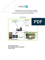 DSS for Water Quality Forecasting and Warning via Mobile Phone