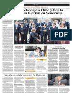Maduro Cancela Viaje a Chile y Hoy La Unasur Analiza La Crisis en Venezuela