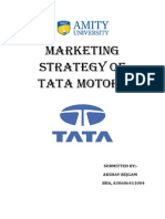 Marketing strategies of TATA motors