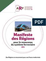 Manifeste Regions Sncf
