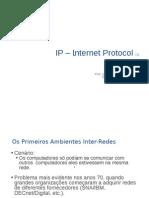 O Protocolo IP