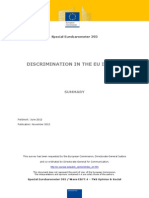 Discrimination in the EU (2012)