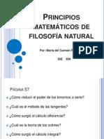 Principios matemáticos de filosofía natural