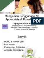 Manajemen Penggunaan AB Appropriate Di Rumah Sakit