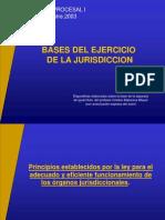 Bases del Ejercicio de la Jurisdicción