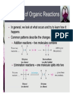 Ch 6  -- Organic Reactions