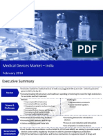 Medical Devices Market in India 2014 - Sample