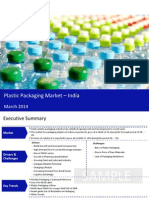 Plastic Packaging Market in India 2014 - Sample