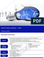 Wind Turbine Market in India 2014 - Sample