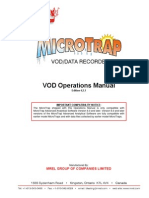 MicroTrap VOD Operations Manual Revision 4-2-1