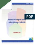 Percepția publică asupra relațiilor dintre români și maghiari - Sondaj INSCOP